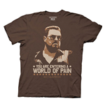 Tシャツ ビッグレボウスキー You are Entering in a World of Pain
