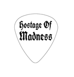 "Fender ""Heavy"" Guitar Pick - Hostage Of Madness"