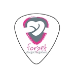 "Fender ""Medium"" Guitar Pick - Forget"