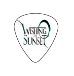 "Fender ""Medium"" Guitar Pick - Wishing  The Sunset"