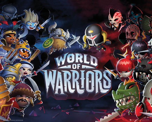 ポスター World of Warriors 137120