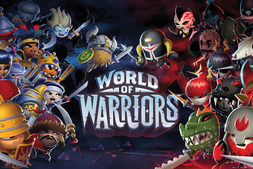 ポスター World of Warriors 143613