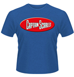 T-シャツ Captain Scarlet 206489