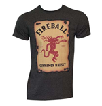 T-シャツ Fireball Cinnamon Whisky 213161