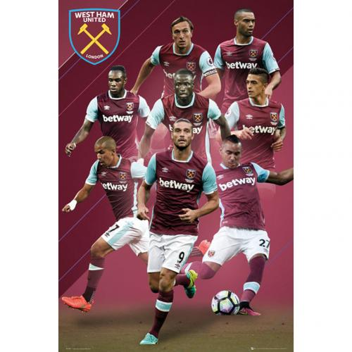 ポスター West Ham United 242450