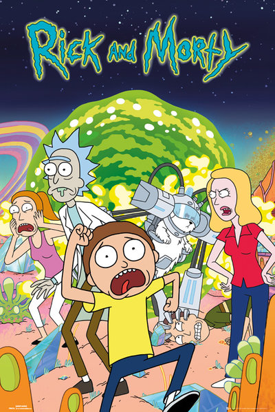 ポスター Rick and Morty 249205
