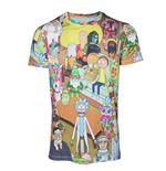 T-シャツ Rick and Morty 280034
