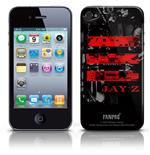 Cover Skin  iPhone 4G Jay Z - Red Logo