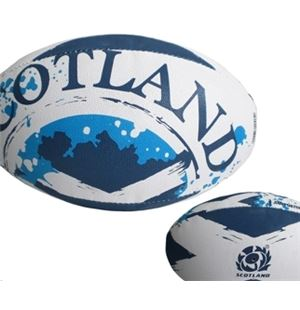 Scotland Rugby Ball Supporter