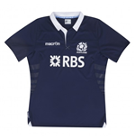 2013-14 Scotland Macron Home Rugby Replica Shirt (Kids)