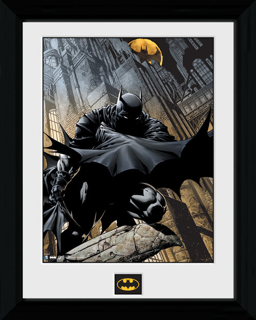 Batman Stalker Framed Print