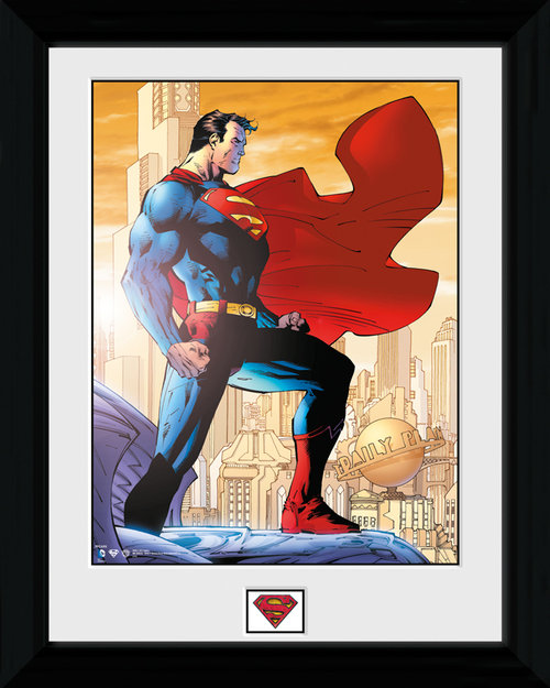 Superman Daily Planet Framed Print