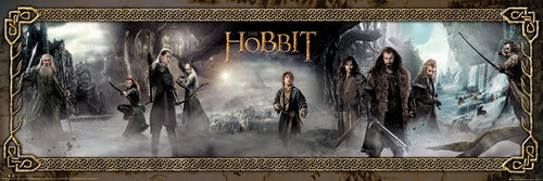 The Hobbit Desolation of Smaug Mist Door Poster