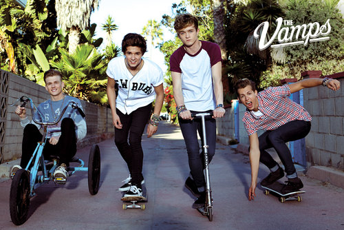 The Vamps Band Maxi Poster