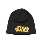 Star Wars Beanie Gold Text