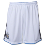 2014-15 Argentina Home World Cup Football Shorts (Kids)