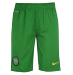 2013-14 Celtic Away Nike Shorts (Yellow) - Kids