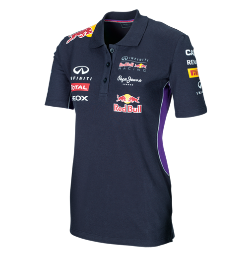 inifinti red bull racing polo shirt 2014 ladies for only at merchandisingplaza us. Black Bedroom Furniture Sets. Home Design Ideas
