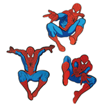 Spider-Man Wall Decor 3-Packs Case (6)