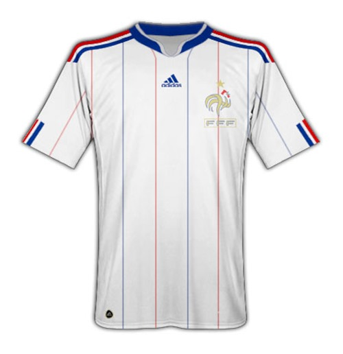 new arrival 874a6 31dc4 2010-11 France World Cup Away Shirt