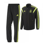 2014-15 Spain Adidas Presentation Tracksuit (Black)