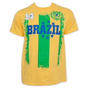 another chance e8ccc 18674 Brazil Soccer Team WORLD CUP Jersey Shirt