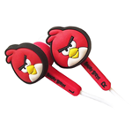 ANGRY BIRDS Bird Ear Buds Accessory Set For Nintendo DSi/DSi XL/3DS, Red (4PC)