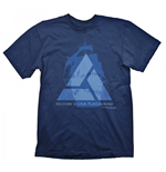 ASSASSINS CREED 4 Distant Lands Small T-Shirt, Navy Blue