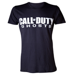 CALL OF DUTY Ghosts Men's Logo Large T-Shirt, Black