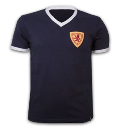 Scotland 1960's Short Sleeve Retro Shirt 100% cotton
