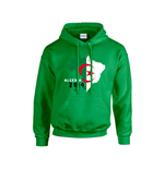 Algeria 2014 Country Flag Hoody (green)