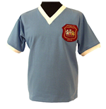 MANCHESTER CITY 1956 BLUE Retro Football Shirts