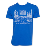HAMM'S Beer Vintage Blue Forest T-Shirt