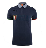 2014-15 Italy Puma Polo Shirt (Navy)