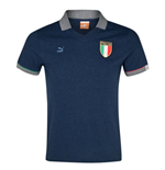 2013-14 Italy Puma T7 Polo Shirt (Navy)