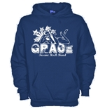 Hoodie with flex printing - Grace
