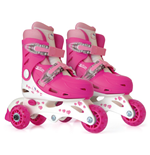 HELLO KITTY Quads to Inline Skates (27 - 30) (2-in-1)