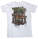 TEENAGE MUTANT NINJA TURTLES (TMNT) Ninjas In Training Kids T-Shirt, 164/170cm, White