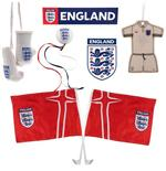 England F.A. Complete Car Set