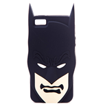 DC COMICS BATMAN 2D Silicon Cover with Batman Face for iPhone 5