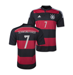 2014-15 Germany World Cup Away Shirt (Schweinsteiger 7)