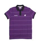 2013-14 Scotland Macron Striped Polo Shirt (Purple) - Kids