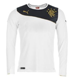 2013-14 Rangers Puma Away Long Sleeve Shirt (Kids)