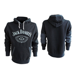 JACK DANIEL'S Classic Old No. 7 Large Hoodie, Black