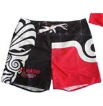 All Blacks Shorts Maori Red
