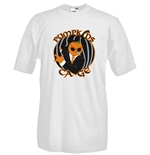Round necked t-shirt with flex printing - PumpKins Cage