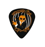 "Fender ""Medium"" Guitar Pick - PumpKins Cage"