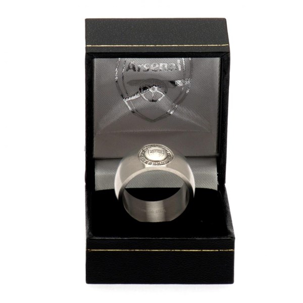 Arsenal F.C. Stone Set Ring Medium