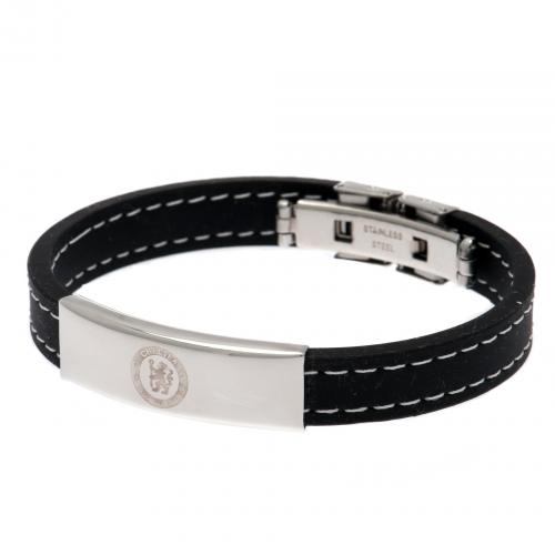 Chelsea F.C. Stitched Silicone Bracelet