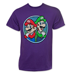 Nintendo Men's MARIO And Luigi Tee Shirt